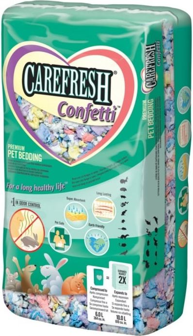 JRS CAREFRESH CONFETTI 50L SMALL CASE - VAT009438 grauzējiem