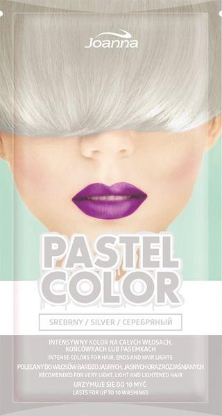 Joanna Szampon koloryzujacy Pastel Color Srebrny  35g 525184