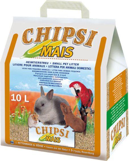 JRS LITTER CHIPSI MAIS 10l-4.6kg CORN grauzējiem