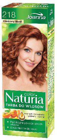 Joanna Naturia Color Farba do wlosow nr 218-miedziany blond  150 g 525218