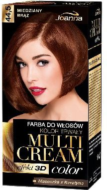 Joanna Multi Cream Color Farba nr 44.5 Miedziany Braz 525097