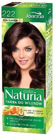 Joanna Naturia Color Farba do wlosow nr 222-dziki kasztan  150 g 525222