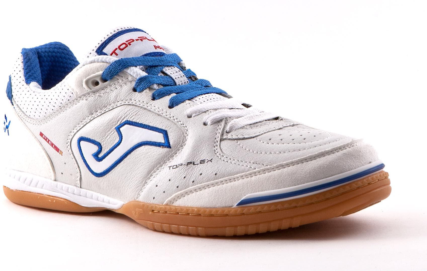 Joma sport Indoor shoes Futbol Sala Men Top Flex 602 White Royal. 41