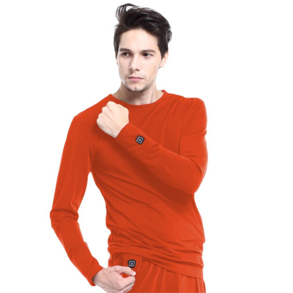 Glovii bluza ogrzewana rozm. S czerwona