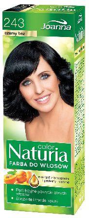 Joanna Naturia Color Farba do wlosow nr 243-czarny bez  150 g 525243
