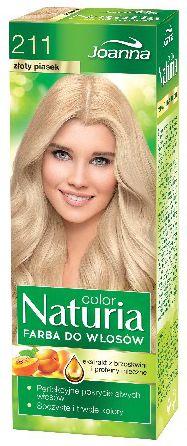 Joanna Joanna Naturia Color Farba do wlosow nr 211-zloty piasek  150g - 525211 525211