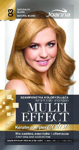 Joanna Multi Effect Color Keratin Complex Szamponetka 03 Naturalny Blond  35 g 525603