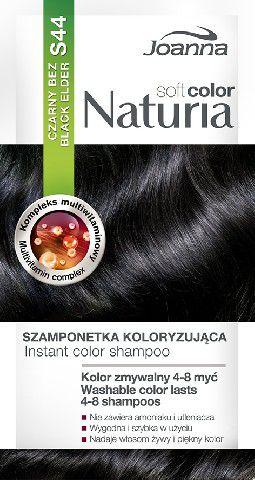 Joanna Naturia Soft Color Szampon koloryzujacy S44 Czarny Bez 525744