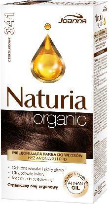 Joanna Naturia Organic Farba nr 341 Czekoladowy 525481