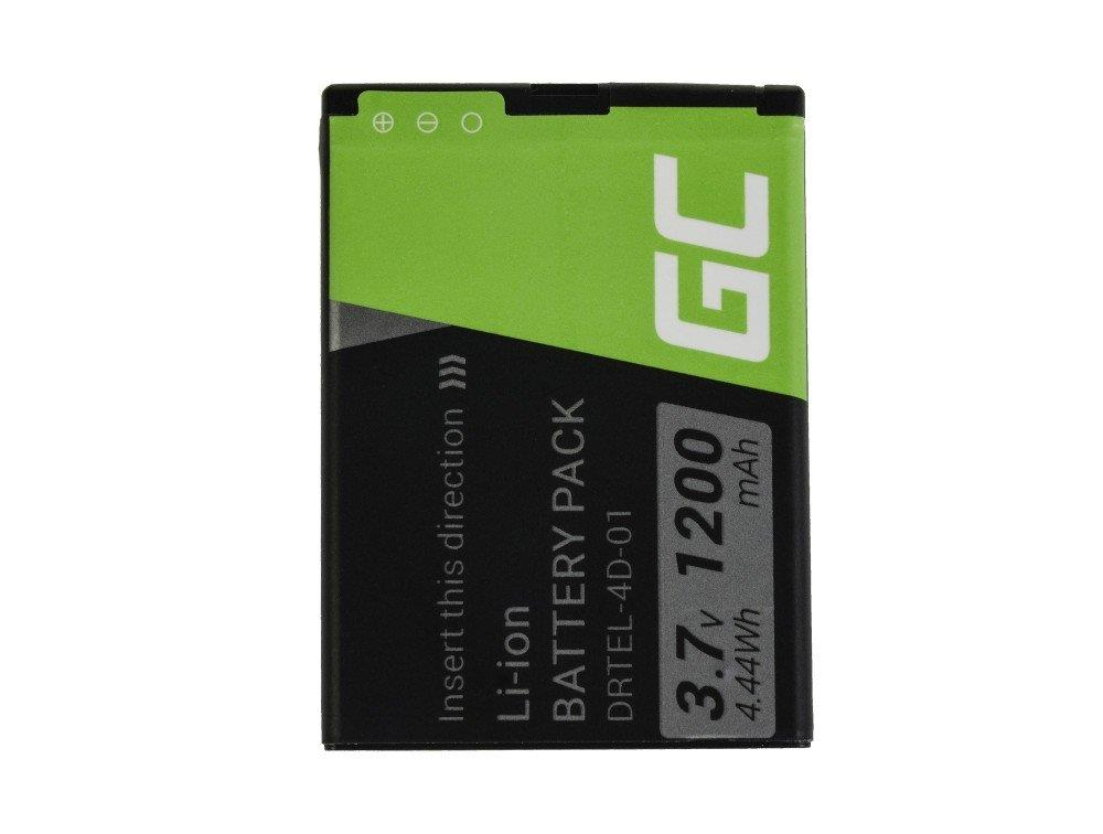 Green Cell Smartphone Battery for myPhone 1075 Halo 2 akumulators, baterija mobilajam telefonam