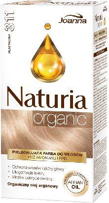 Joanna Joanna Naturia Organic Farba nr 311 Platynowy  1 op. - 525451 525451