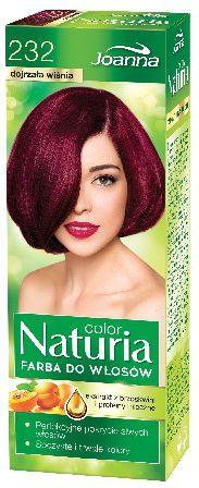 Joanna Naturia Color Farba do wlosow nr 232-dojrzala wisnia  150 g 525232