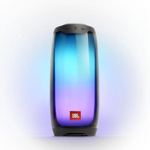 JBL Pulse 4 Full 360 LED light effects, IPX7 Waterproof, Black pārnēsājamais skaļrunis