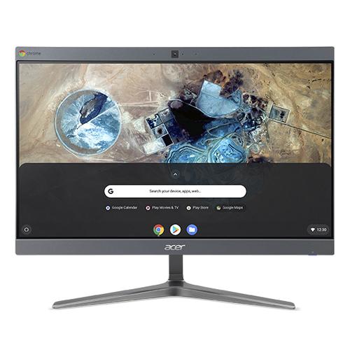 Acer PC Acer Chromebase CA 2412 AIOT i3 SSD ChromeOS i3 8130U,8G4,32GBSSD,23,8 FHD,silver 4710180471809