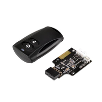 Silverstone SST-ES02-USB, remote for PC Power on/off aksesuārs datorkorpusiem