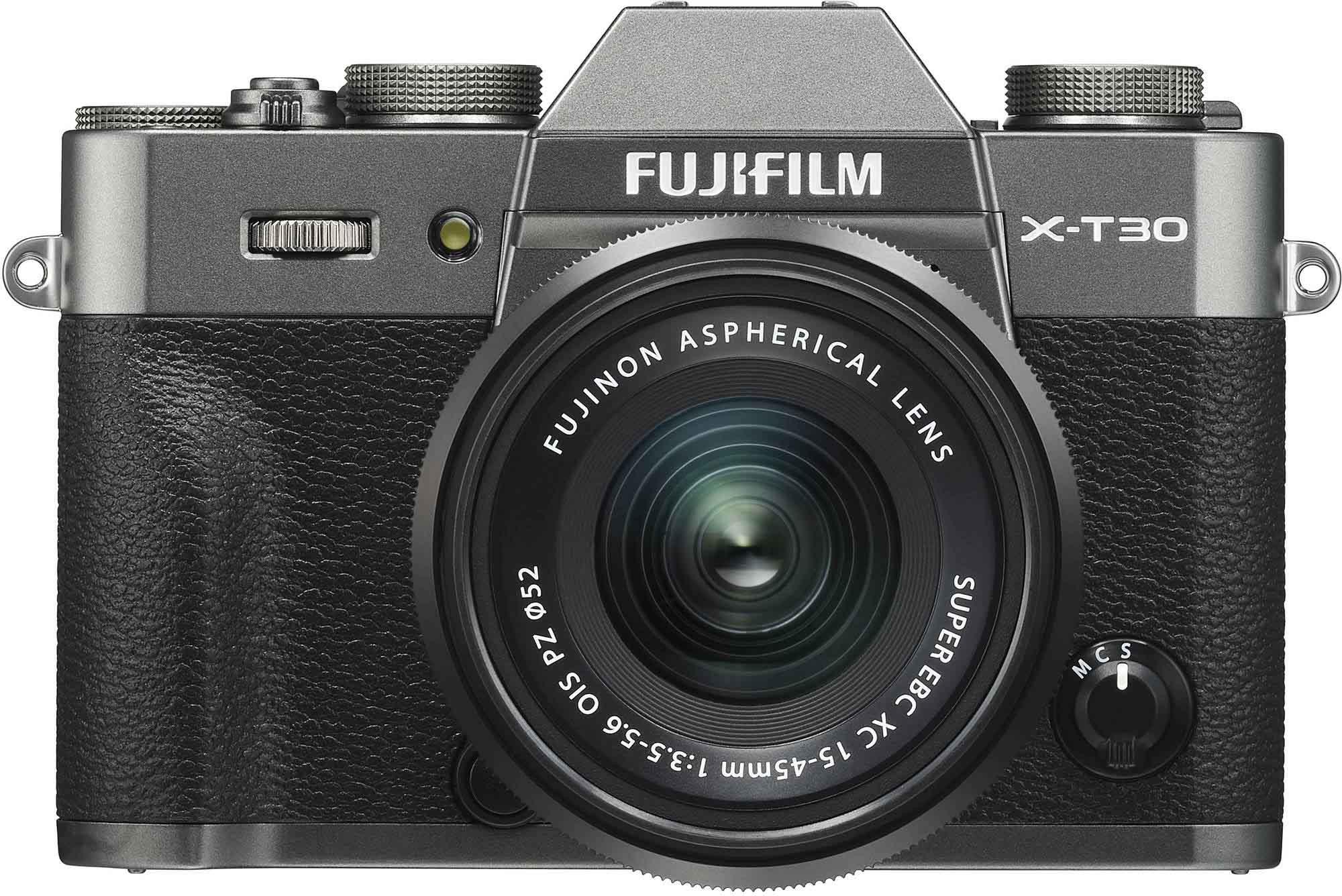 Fujifilm X-T30 + 15-45mm Kit, kokogles pelēks 4547410399943 Digitālā kamera