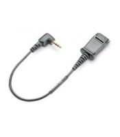Plantronics Kabel Adaptera QD for 2.5mm Jack for Cisco 7920/7929 (65287-01) Satelītu piederumi un aksesuāri