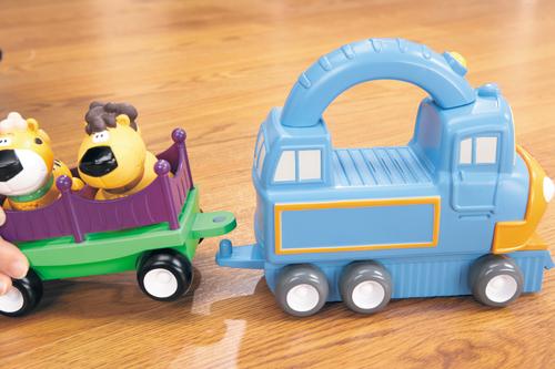 Little Tikes Handle Haulers Deluxe - Pociag Radiovadāmā rotaļlieta