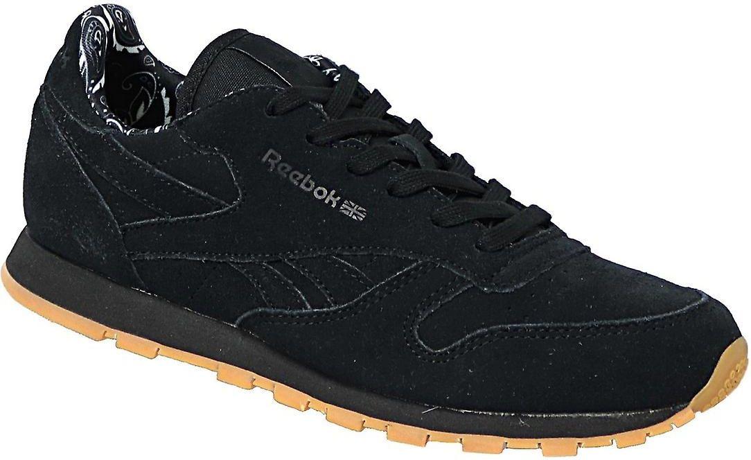Reebok Buty dzieciece Classic Leather TDC czarne r. 36 (BD5049) BD5049