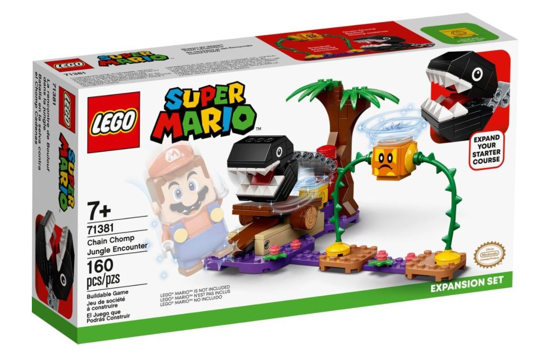 Lego Super Mario Chain Chomp Jungle Encounter 71381 LEGO konstruktors