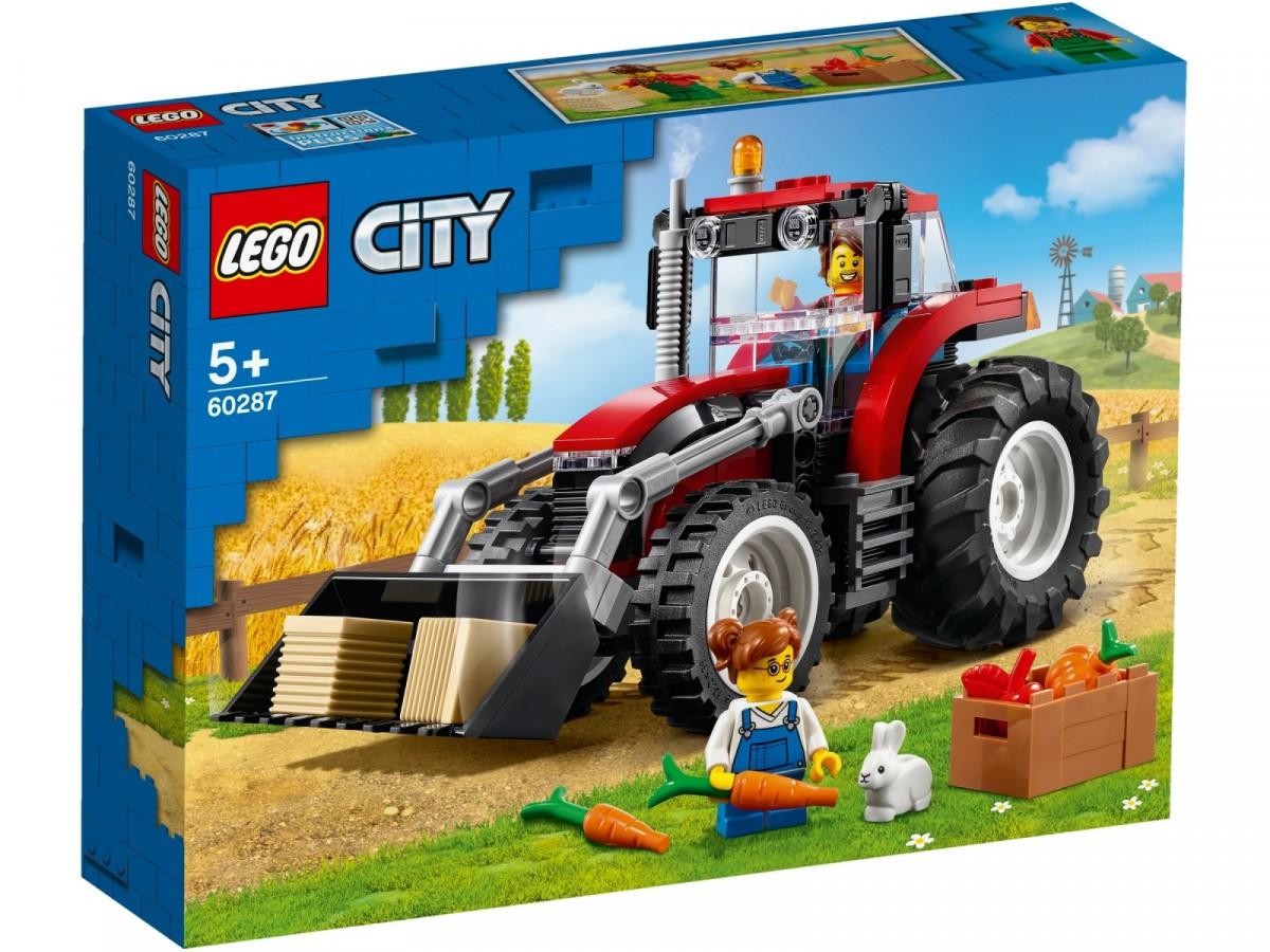 Lego City Tractor 60287 LEGO konstruktors
