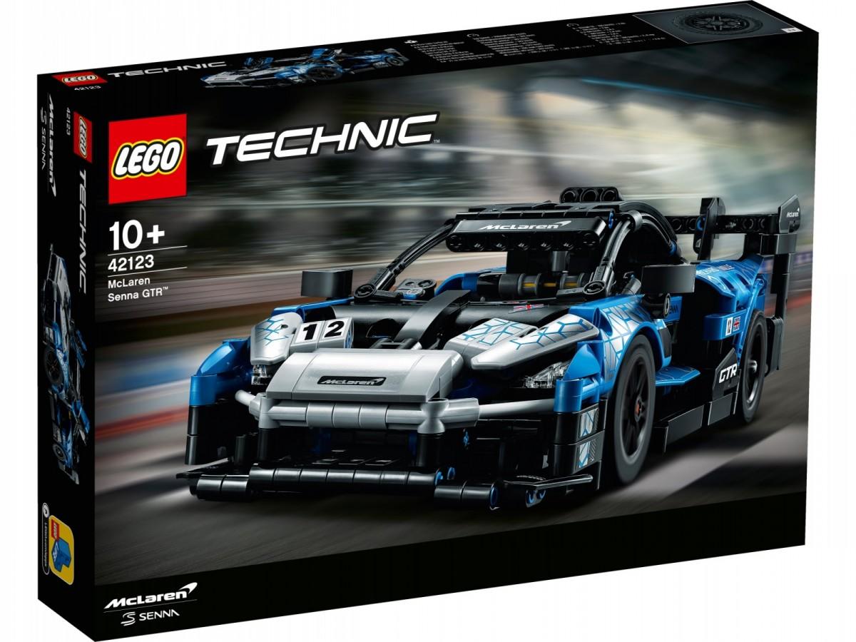 Lego Technic McLaren Senna GTR 42123 LEGO konstruktors