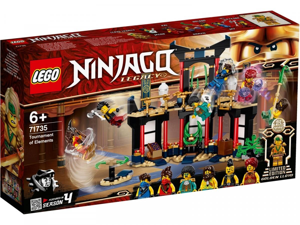 Lego Ninjago Tournament of Elements 71735 LEGO konstruktors