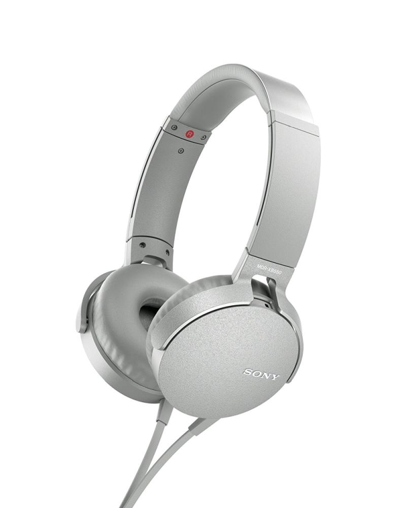 Sony MDR-XB550APW White austiņas