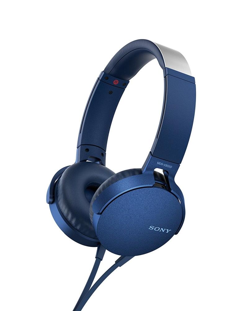 Sony MDR-XB550APB Blue austiņas