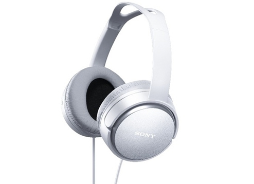 Sony MDR-XD150 3.5 mm, On-Ear, White austiņas