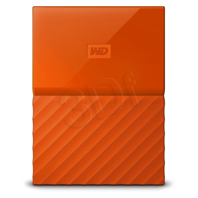 WD My Passport 2.5'' 1TB USB 3.0 Orange Ārējais cietais disks