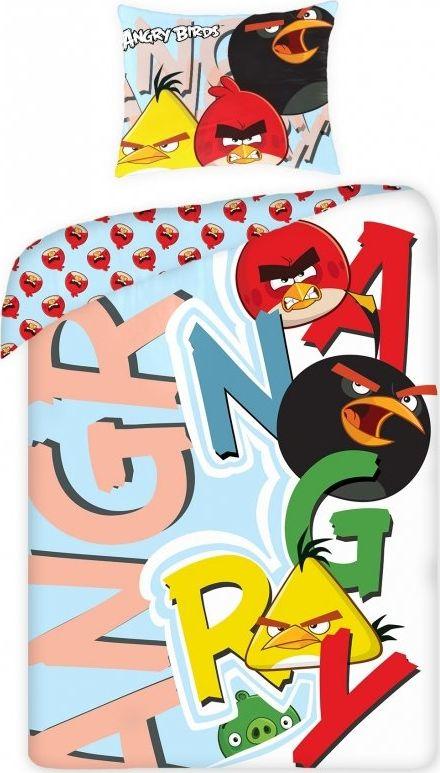 Angry Birds Patalynes komplektas Angry Birds, 2 daliu 5046123 Gultas veļa