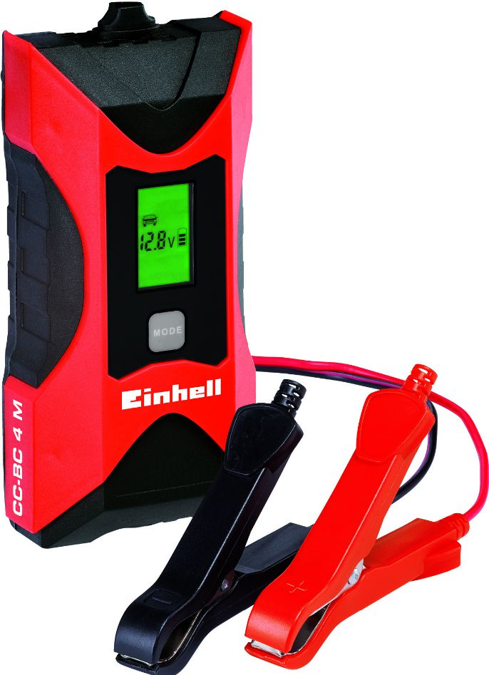 EINHELL CC-BC 4 M 6V/12V auto akumulatoru lādētājs