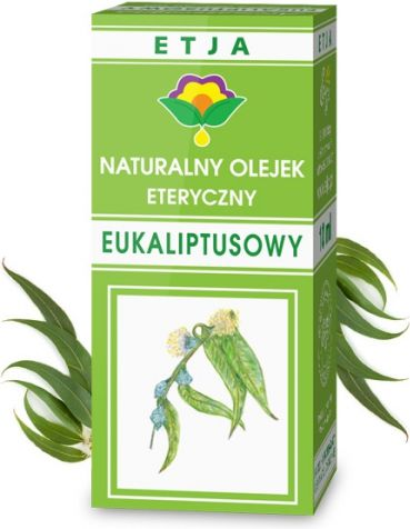 Etja Olejek Eteryczny Eukaliptusowy, 10ml ETE6097
