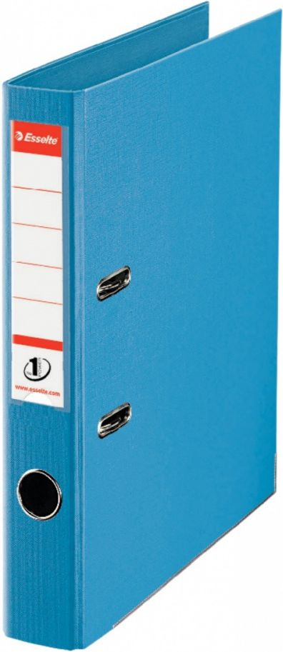 Esselte No.1 Lever Arch File A4 50mm light blue (811411)