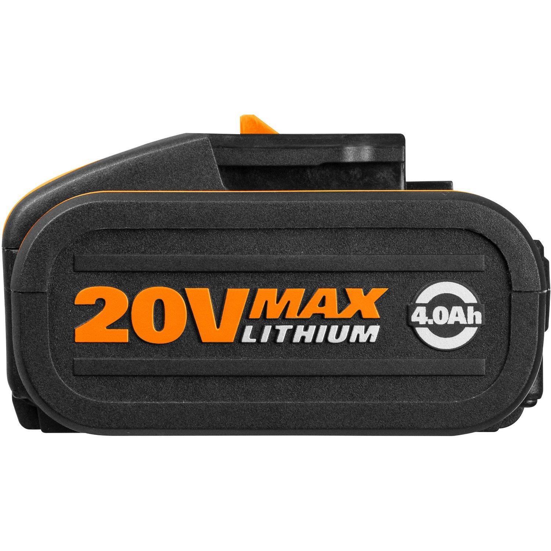 Worx WA3553.2 Battery-Set 2x 20V 4,0Ah Li-Ion-Battery
