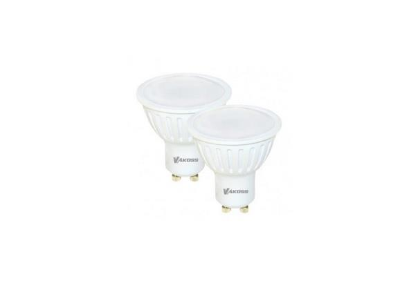 Vakoss  LED 2pcs Bulb MR16 GU10 6W 2700K 410lm  LD-S0633S2-A apgaismes ķermenis