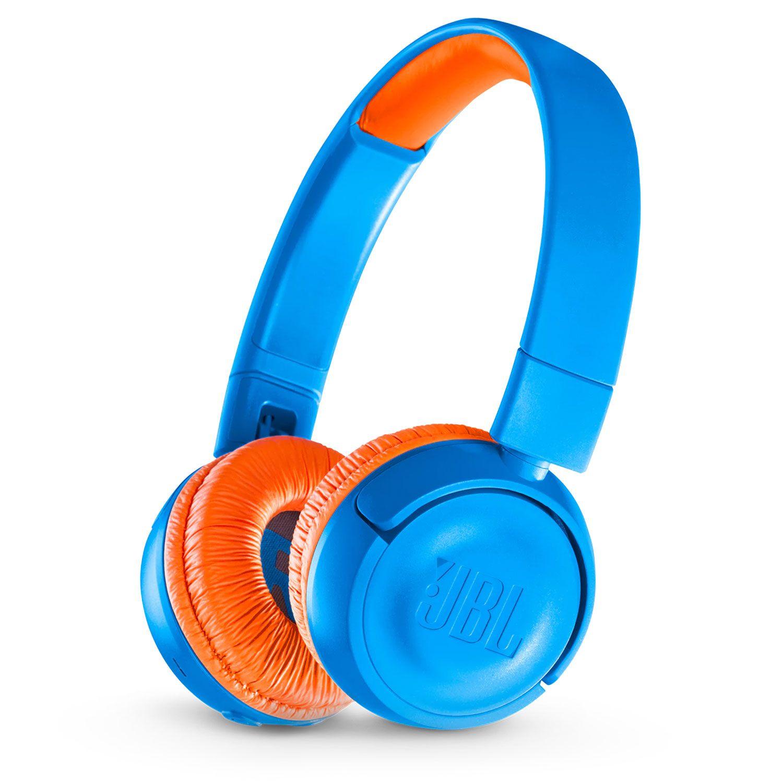 JBL JR300BT Blue/Orange austiņas