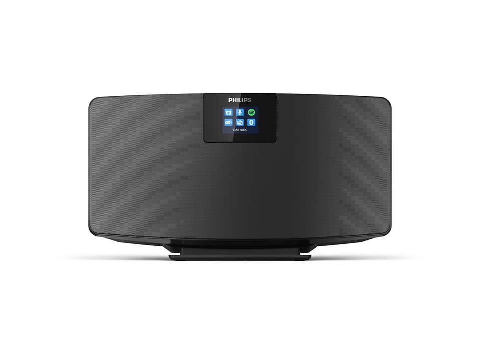 Philips Mikro mūzikas sistēma ar Bluetooth, melns TAM2805/10 mūzikas centrs