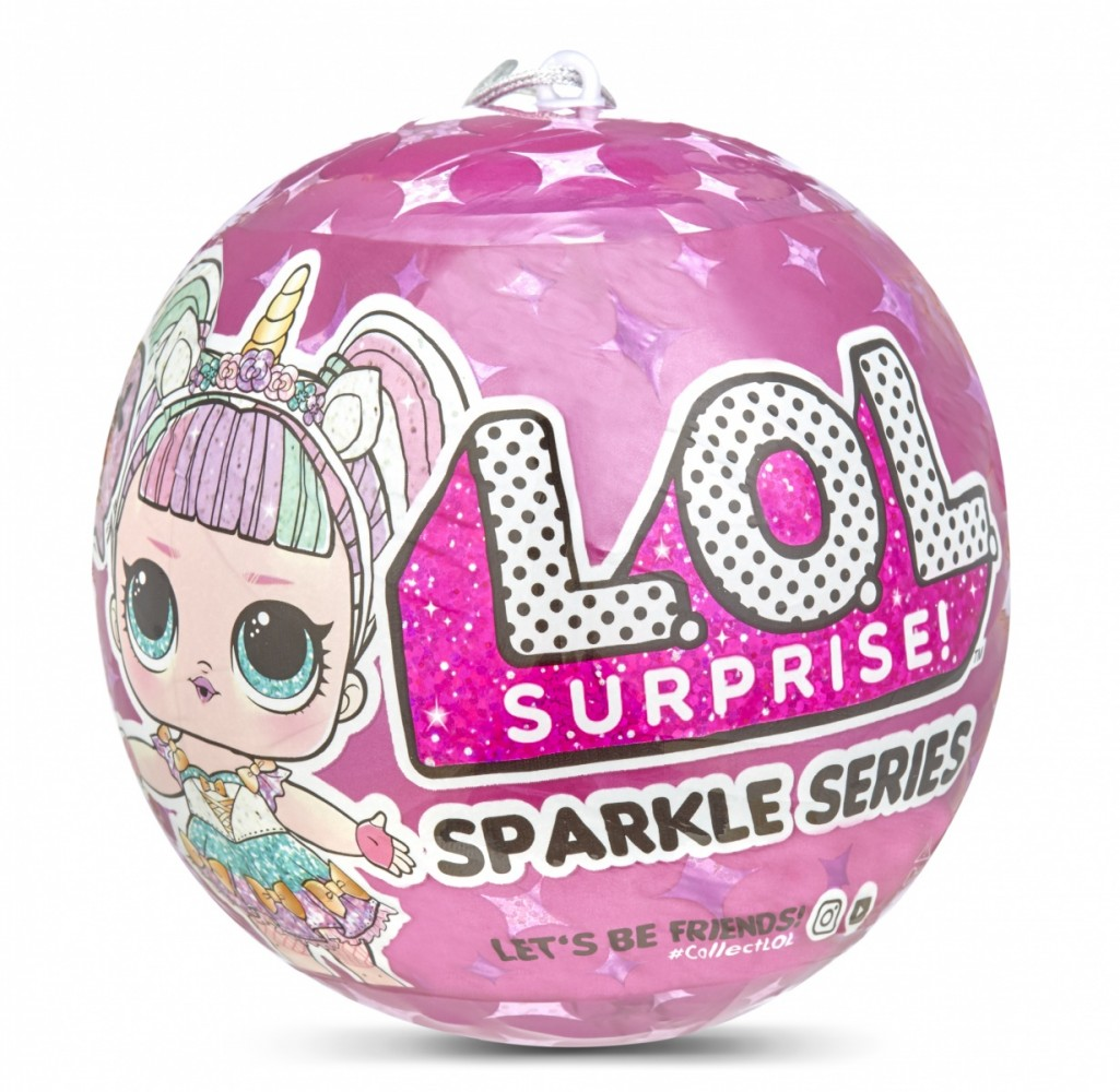 MGA L.O.L. Surprise Sparkle LOL A shiny doll bērnu rotaļlieta