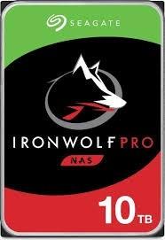 SEAGATE Ironwolf PRO NAS HDD 10TB SATA cietais disks