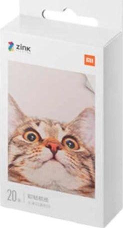 Xiaomi Mi Portable Photo Printer Paper (2x3-inch, 20-sheets) 6934177716485 foto papīrs