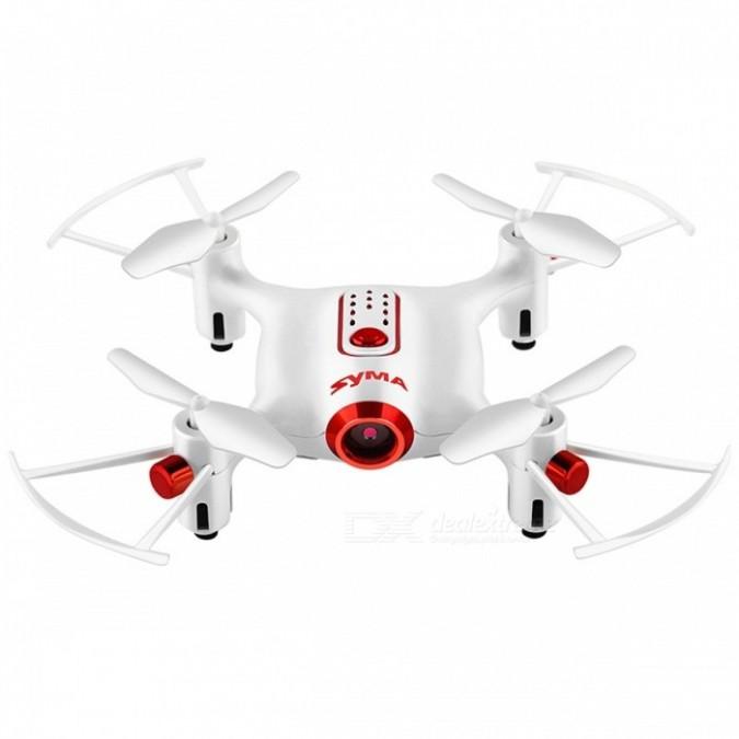 Syma X20W (2.4GHz, FPV WiFi camera, gyroscope, range up to 20m) - White Droni un rezerves daļas