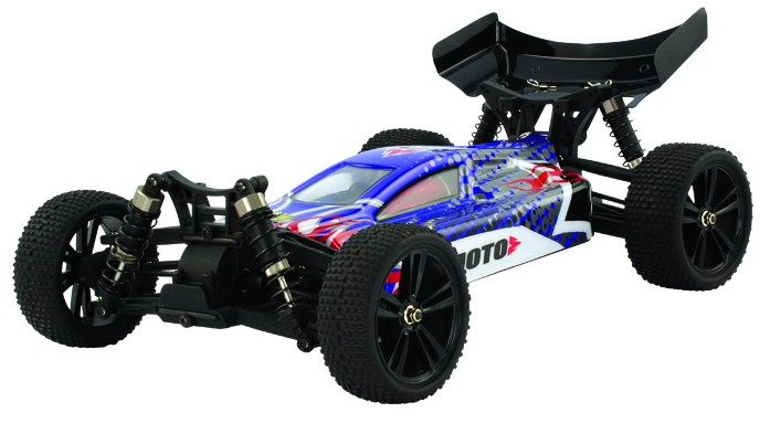 Himoto Tanto Buggy 1:10 4WD 2.4GHz RTR Blue (E10XB-31312)