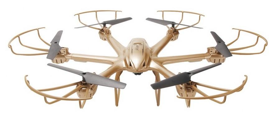 Dron MJX X601H Hexacopter RTF (MJX/X601H-GLD) Droni un rezerves daļas