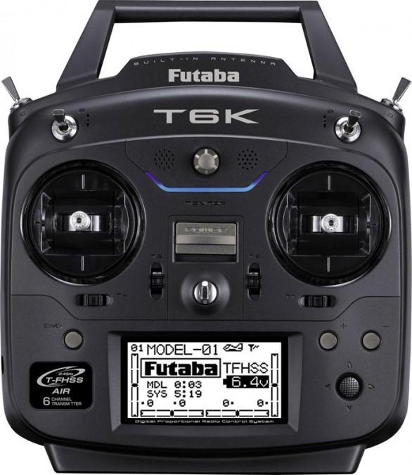 T6K 8CH 2.4GHz T-FHSS + receiver R3006SB FB/T6K