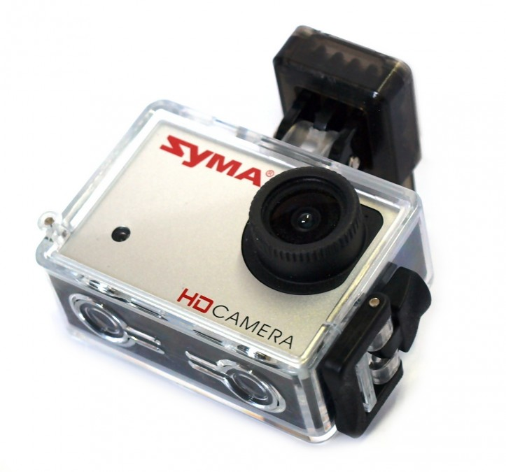 Camera Syma HD X8HG-22 720p/1080p + holder + MicroSD 4GB X8HG-22
