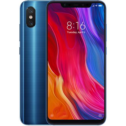 Xiaomi Mi 8 6GB/64GB Blue Mobilais Telefons