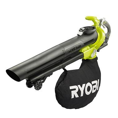 Ryobi RBV36B Cordless Blower Vac celtniecības fēns
