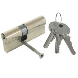 FASTER TOOLS Durvju atslēgas serdene 60mm (3 atslēgas)